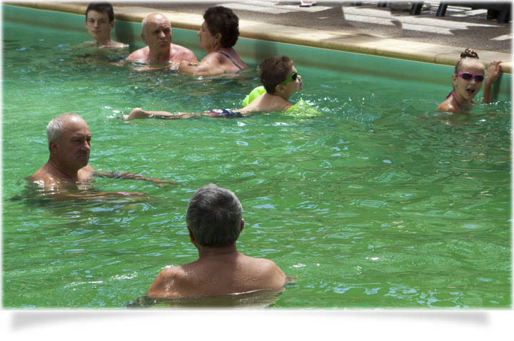 salinitatea apei la piscina Ceres-